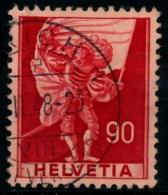 SCHWEIZ 1941 Nr 381 Gestempelt X826F46 - Suisse