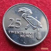 Zambia 25 Ngwee 1992 KM# 27  Zambie - Zambie