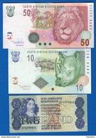 Sud  Afrique  3  Billets - Afrique Du Sud