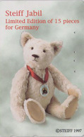 Télécarte Japon / 110-016 - Jouet - OURS NOUNOURS - STEIFF TEDDY BEAR * GERMANY Rel. ** Japan Phonecard - 703 - Games