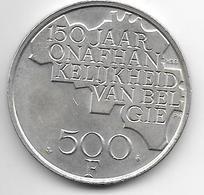 Belguim 500 Francs 1980 Dutch Silver Clad Copper-Nickel  Xf+  KM162 - 1951-1993: Baudouin I