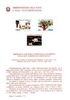 Italia Bollettino Illustrativo Repubblica 1982 - Giornata Del Francobollo   23/82. - 6. 1946-.. Republic