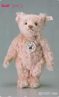 Télécarte Japon / 110-011 - Jouet - OURS NOUNOURS - STEIFF TEDDY BEAR * GERMANY Rel. ** Japan Phonecard - 711 - Games
