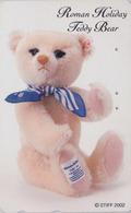 Télécarte Japon / 110-016 - Jouet - OURS NOUNOURS - STEIFF TEDDY BEAR * GERMANY Rel. ** Japan Phonecard - 712 - Jeux