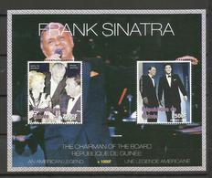 Guinée YT**   BF 133 Frank Sinatra Chanteur  Acteur Cinéma Elvis Presley MarilynMonroe - Muziek