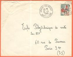 FRANCIA - France - 1965 - 0,30 Coq De Decaris - Viaggiata Da Arvant Entrepot Per Paris - 1962-65 Cock Of Decaris