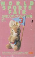 TC Japon / 110-011 - Jouet Peluche - STEIFF FAIR 3/3 - LAPIN - RABBIT * GERMANY Rel. ** Japan Phonecard - 716 - Games