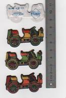 3 Figurines En Mousse Fiat 1901 .10HP  Laiterie Saint Hubert Année 80 (7) - Figurines