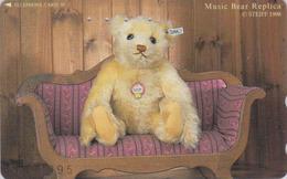 TC Japon / 110-196650 - Jouet  - Série 2/8 - STEIFF TEDDY BEAR - OURS NOUNOURS * GERMANY Rel. ** Japan Phonecard - 718 - Games
