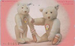 TC Japon / 110-196653 - Jouet  - Série 5/8 - STEIFF TEDDY BEAR - OURS NOUNOURS * GERMANY Rel. ** Japan Phonecard - 721 - Games