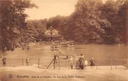 BRUXELLES - Bois De La Cambre - Le Lac Et Le Chalet Robinson - Bossen, Parken, Tuinen