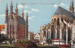 LOUVAIN - Hôtel De Ville Et Collégiale - Leuven