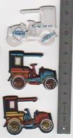 2 Figurines En Mousse Fiat 1901 .12HP  Laiterie Saint Hubert Année 80 (12) - Figurines