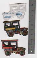 2 Figurines En Mousse Fiat 1901 .12HP  Laiterie Saint Hubert Année 80 (16) - Figurines