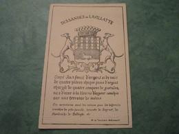 DISSANDES De LAVILLATE - Genealogie