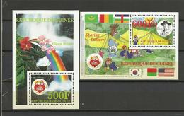 Guinée YT**  2 BF 95/96   Baden Powell  Jamborée - Padvinderij