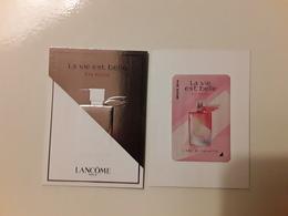 LANCÔME  ~~~ La Vie Est Belle En ROSE  Avec 1 Patch  R/V  !! - Modernas (desde 1961)