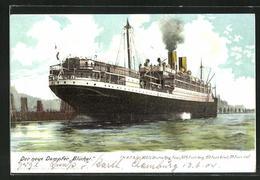 AK Passagierschiff Blücher Der H.A.P.A.G. - Steamers