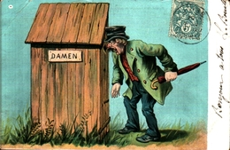 Humour 592 Toilettes WC Damen - Humour
