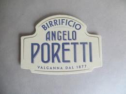 Sous Bock Publicité BIRRIFICIO  ANGELO PORETTI - Neuf - Sous-bocks