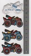 3 Figurines En Mousse Fiat 1901 .8HP  Laiterie Saint Hubert Année 80 (20) - Figurines