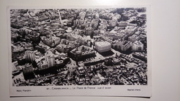 "Morocco, Maroc - Casablanca, La Place De France Vue D""avion  [TM/Lpt100e] - Casablanca"