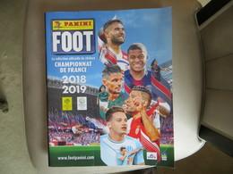 Album PANINI FOOT Championnat De France 2018 2019 - Vierge + Echantillon D' Images à Coller - Boeken, Tijdschriften, Stripverhalen