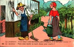 J Nozais - 151, Le Baromètre Du Jardinier, Arrosoir - Illustrators & Photographers