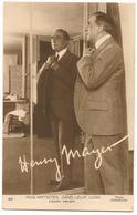 Artistes Dans Leur Loge - Henry MAYER Acteur Comédie Française - Artisti