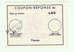 COUPON REPONSE à 0,60 Beauvais - Antwortscheine
