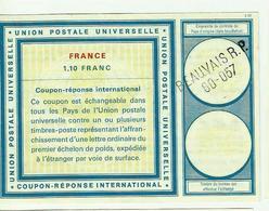 COUPON REPONSE INTERNATIONAL  1.10 Franc  Beauvais - Antwortscheine