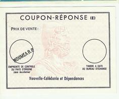 COUPON REPONSE Nouvelle Calédonie NOUMEA - Biglietto Postale