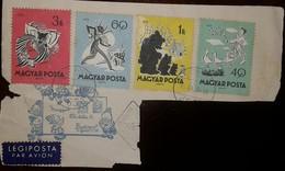 O) 1959 HUNGARY, CHILDHOOD FAIRY TALES, PEGIPOSTA-BUDAPEST PHILATELIC, XF - Hungary
