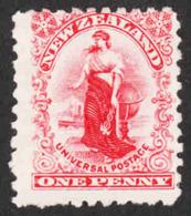 New Zealand  - Scott #100 Unused - No Gum (2) - 1855-1907 Crown Colony
