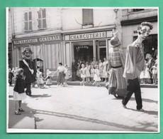 76 Seine Maritime Saint Saens Photo Fete Du Quartier De La Varenne 10 - 7 - 1957 Format 8,5cm X 10,3cm - Lieux