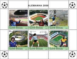 Guinea Bissau 2004  2006 Germany  Football World Cup - Guinea-Bissau