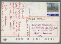 C3252 HELVETIA Postal History 2007 SEDIA CHAIR - Svizzera