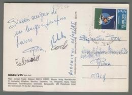 C3257 MALDIVES Postal History 1985 TOURISM WINDSURFING - Maldive (1965-...)