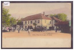 ST DIDIER - PLACE DE LA GARE - B ( PETIT ACCROC COIN HAUT DROIT ) - Autres Communes