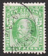 New Zealand  - Scott #130 Used (1) - 1907-1947 Dominion