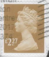 GB 2017 Machin £2.27 M17L Good/fine Used [39/31933/ND] - 1952-.... (Elizabeth II)