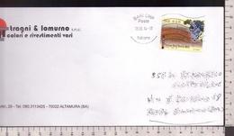 C3356 Storia Postale Emissione 2013 MADE IN ITALY VINI DOCG TORGIANO ROSSO ISOLATO Euro 0.70 - 2011-...: Storia Postale