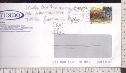 C3359 Storia Postale Emissione 2013 MADE IN ITALY VINI DOCG AGLIANICO DEL TABURNO ISOLATO Euro 0.70 - 2011-...: Storia Postale