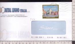 C3383 Storia Postale Emissione 2016 TURISTICA CAROVILLI ISOLATO Euro 0.95 - 1946-.. République
