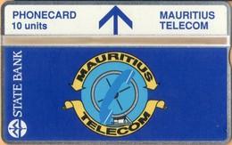 Mauritius - MU-MAU-0012, State Bank & Telecom's Logo, 308A, 10U, 5,000ex, 8/93, Mint - Mauritius