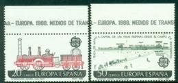 Spain 1988 Europa MUH Lot15946 - 1931-Today: 2nd Rep - ... Juan Carlos I