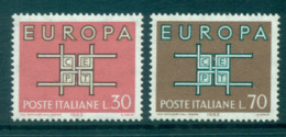 Italy 1963 Europa, Interlock Links MUH Lot65358 - 6. 1946-.. Republic