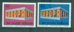 Italy 1969 Europa, Europa Building MUH Lot65475 - 6. 1946-.. Republic