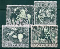 San Marino 1968 The Battle Of San Romano MLH Lot40120 - San Marino
