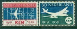 Netherlands 1959 KLM Airlines FU Lot76655 - Periodo 1949 - 1980 (Giuliana)